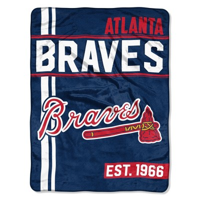 MLB Atlanta Braves Micro Fleece Throw Blanket