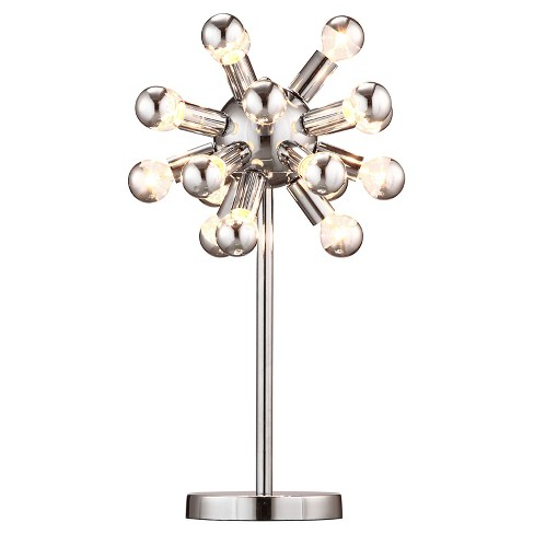 Mid Century Modern Chrome Table Lamp Zm Home