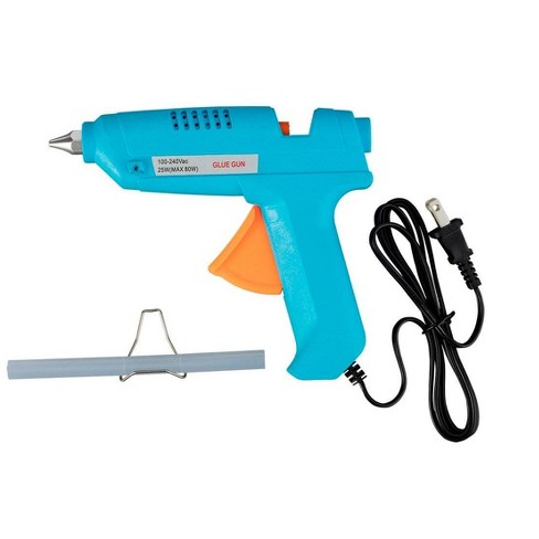 Monoprice 80-Watt Hot Melt Glue Gun with Glue Sticks, For Your Craft, DIY, or Repair Gluing Projects - image 1 of 4