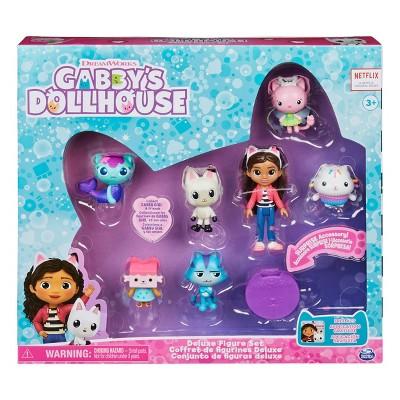 Gabby's Dollhouse Deluxe Figure Set 7pc