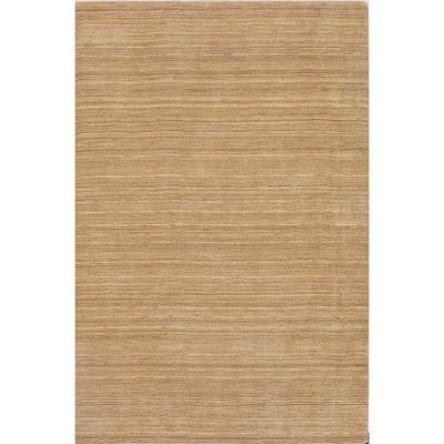 Tonal Solid 100% Wool Area Rug - Linen (8'x10')