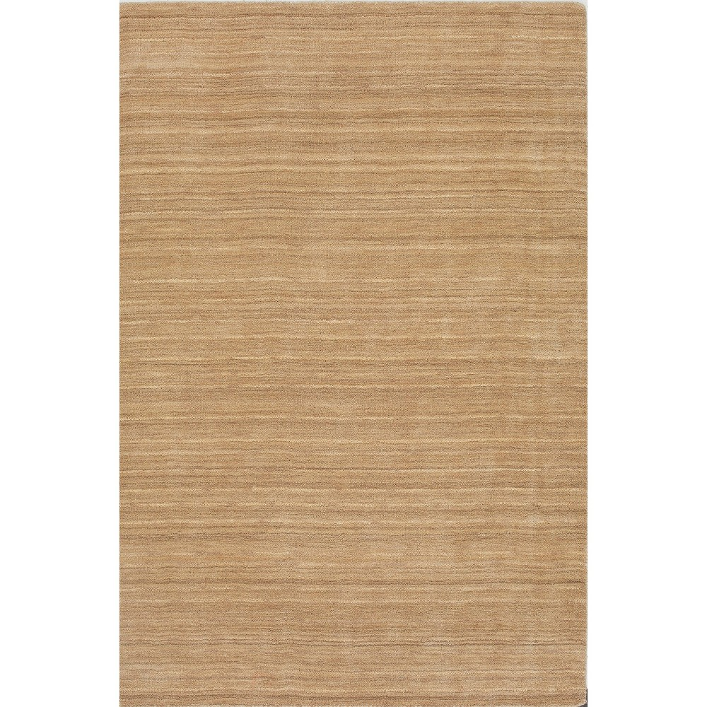 9'x13' Tonal Solid 100% Wool Area Rug Linen - Addison Rugs