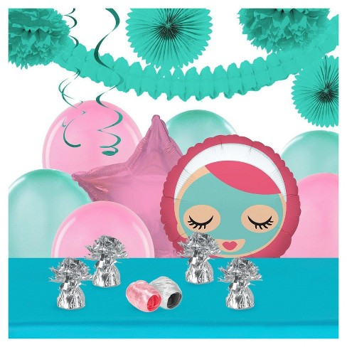 Little Spa Party Decoration Kit Target