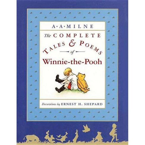 The Complete Tales and Poems of Winnie-The-Pooh/Wtp - by  A A Milne (Hardcover) - image 1 of 1