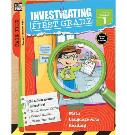 Investigating First Grade (Paperback) - image 1 of 1