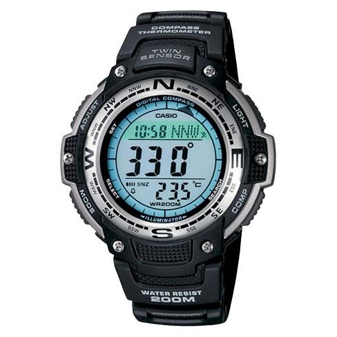 Men's Casio Digital Compass Twin Sensor Sport Watch - Black (SGW100-1V) - image 1 of 1