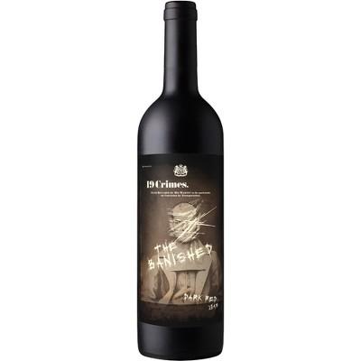 19 Crimes The Banished Dark Red Wine - 750ml Bottle