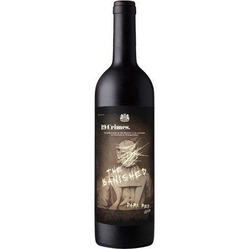 19 Crimes The Banished Dark Red Wine - 750ml Bottle - image 1 of 2