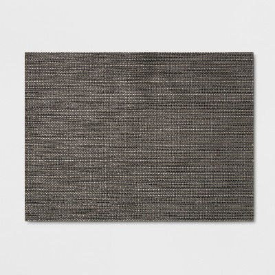 "14""x19"" Placemat Gray - Threshold™"