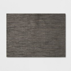 "19""x14"" Placemat Gray - Threshold™"