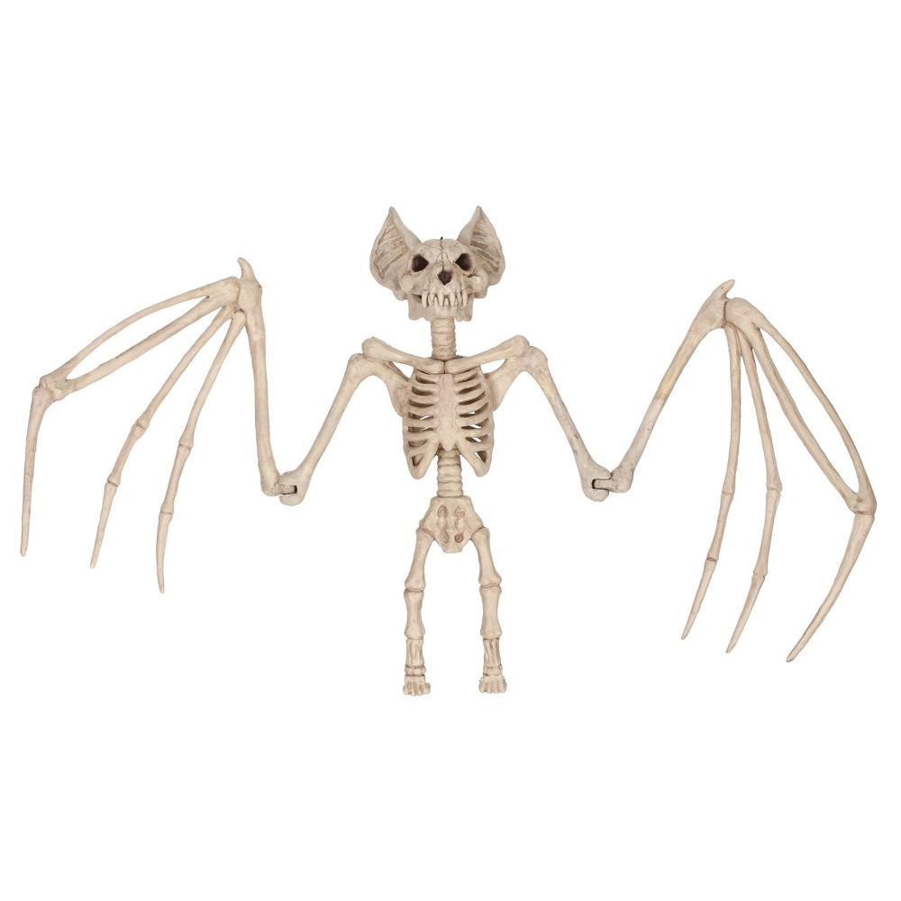 Image of Halloween Skeleton Bat Large 36 In