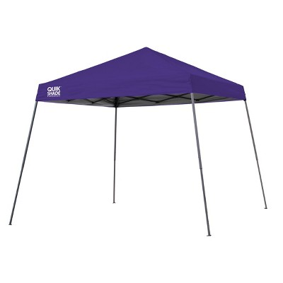 ShelterLogic Expedition EX64 Slant Leg Pop-Up Canopy, 10 ft. x 10 ft. Purple