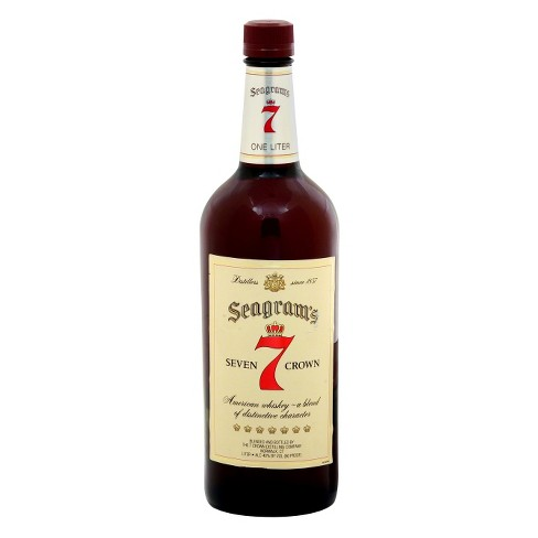 Seagram's® 7 Crown American Whiskey - 1L Bottle - image 1 of 1
