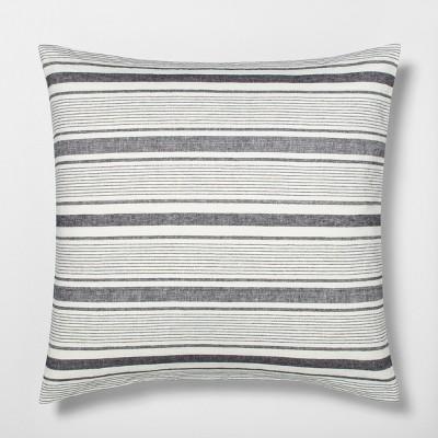 Yarn-Dye Stripes Euro Pillow Sham - Hearth & Hand™ with Magnolia
