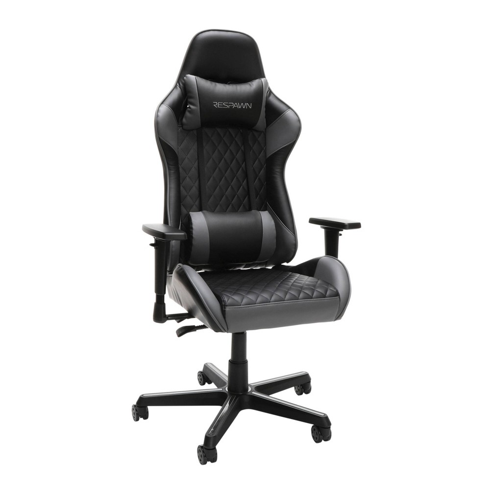 Image of 100 Racing Style Gaming Chair Gray - RESPAWN