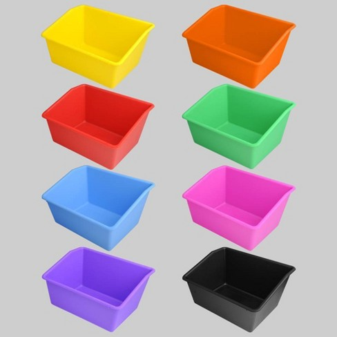 8ct Plastic Book Boxes - Bullseye's Playground™ - image 1 of 9