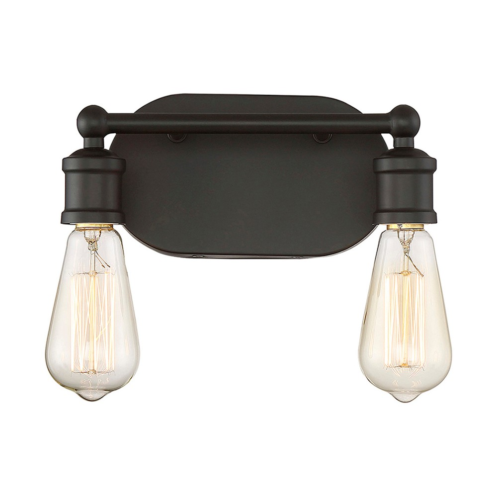 Image of Wall Lights Bath Vanity Oil Rubbed Bronze - Aurora Lighting
