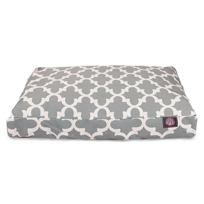 Majestic Pet Trellis Rectangle Dog Bed - Gray - Large - L