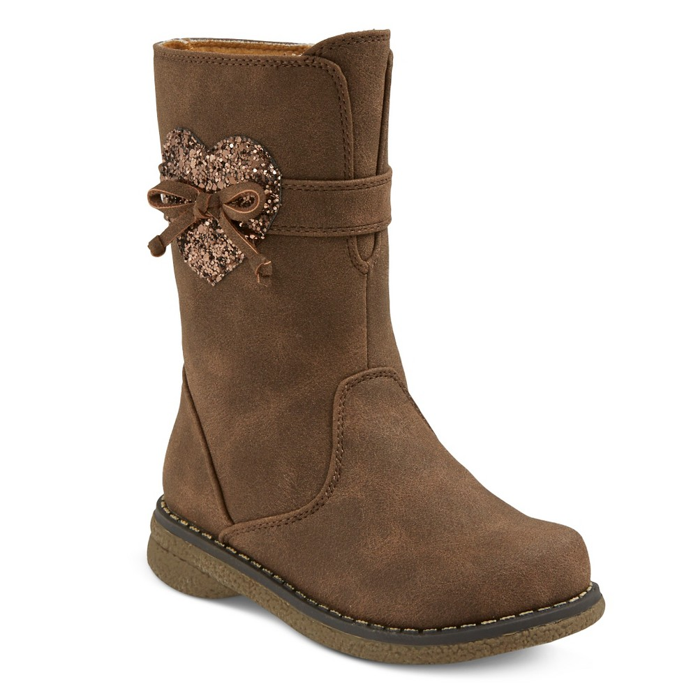 Toddler Girls' Rachel Shoes Shelby Fashion Boots - Tan 11 Toddler Girls' Rachel Shoes Shelby Fashion Boots - Tan 11 Gender: Female. Pattern: Solid.