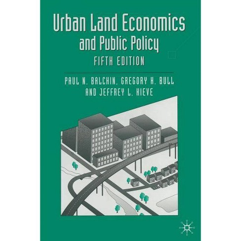 Urban Land Economics and Public Policy - (Building and Surveying) 5 Edition (Paperback) - image 1 of 1