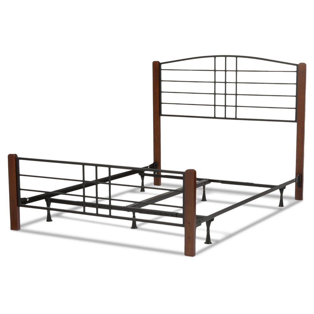 Dayton Bed - Black Grain - Full - Fashion Bed Group