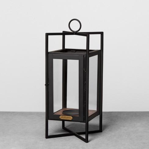 lantern black hearth hand with magnolia target. Black Bedroom Furniture Sets. Home Design Ideas