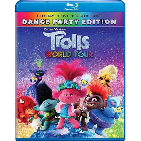Trolls World Tour Blu Ray Dvd Digital Target From the genius creators of shrek, trolls stars anna kendrick as poppy, the optimistic leader of the trolls, and her polar opposite, branch, played by justin timberlake. trolls world tour blu ray dvd digital