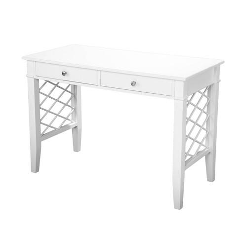 Mafsney Writing Desk White - Aiden Lane - image 1 of 4