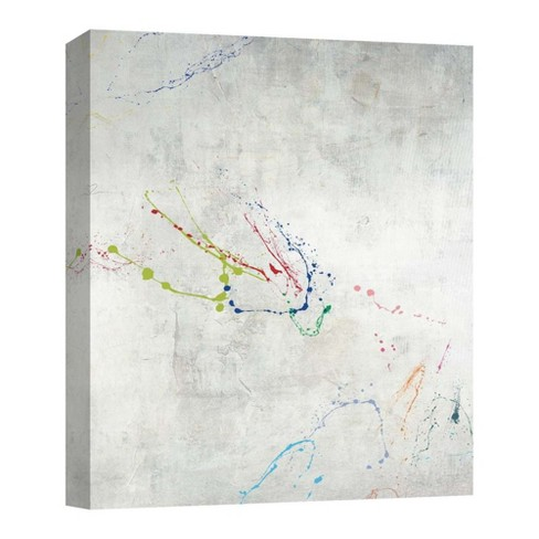 "16"" x 16"" Paint Splash II Decorative Wall Art - PTM Images - image 1 of 1"