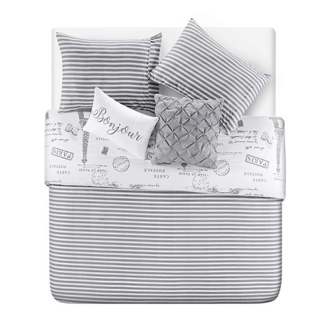 Paris Night Duvet Set - VCNY HOME - image 1 of 4