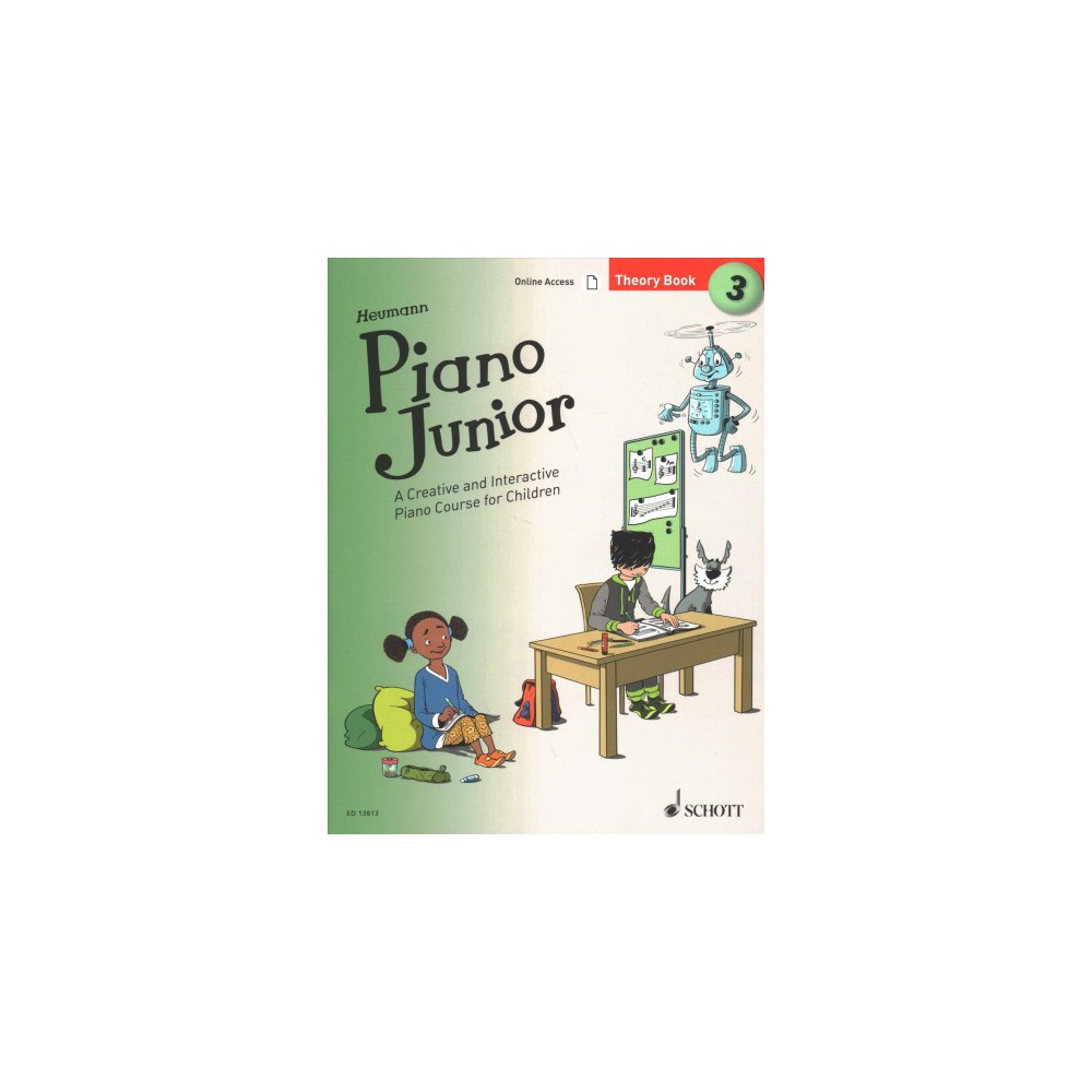 Piano Junior, Theory Book : Includes Downloadable Audio - Book 3 (Paperback)