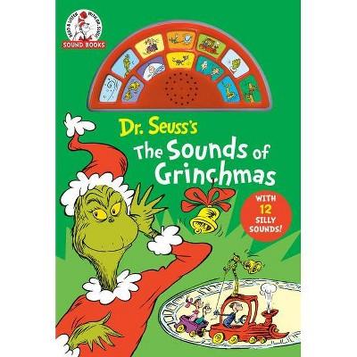 Dr Seuss's the Sounds of Grinchmas - (Dr. Seuss Sound Books) (Board Book)