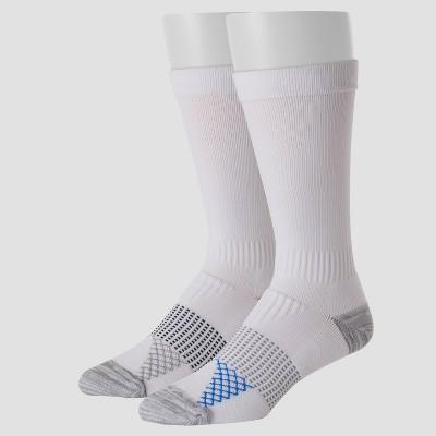 Hanes Men's Compression Socks 2pk - White 6-12