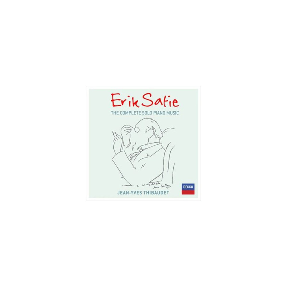 Jean-yves Thibaudet - Satie:Complete Solo Piano Music (CD)