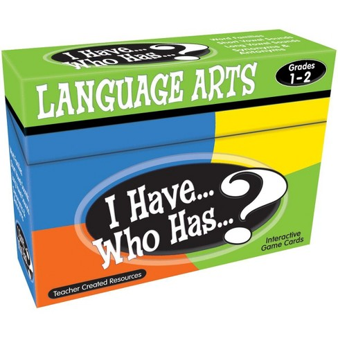 I Have... Who Has...? Language Arts Game Gr. 1–2 - image 1 of 1