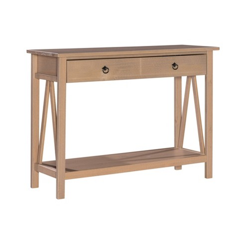 Titian Console Table Driftwood - Linon - image 1 of 4