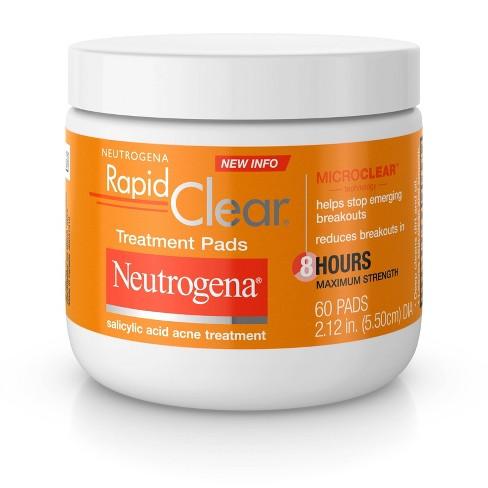 Neutrogena Rapid Clear Maximum Strength Treatment Pads - 60ct - image 1 of 4