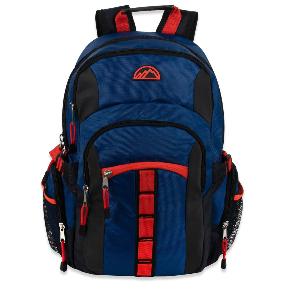 """Image of """"Mountain Edge 19"""""""" Deluxe Carrier Backpack - Blue"""""""