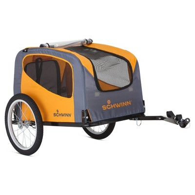 Schwinn® Rascal Pet Trailer - Orange/Gray