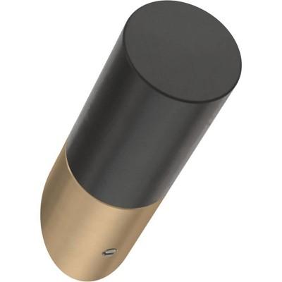 "Franklin Brass 5pk 2.25"" Modern Slant Decorative Hooks Bronze/Black"