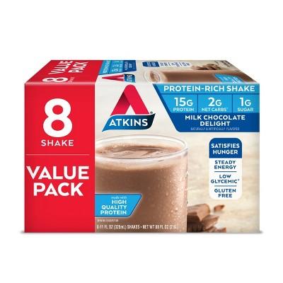 Atkins Nutritional Shake - Milk Chocolate Delight