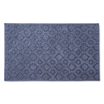 Blue&nbspSolid&nbspFloor Mat&nbsp - Room Essentials™