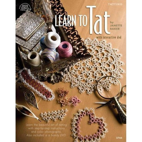 Learn to Tat - by  Janette Baker (Mixed media product) - image 1 of 1