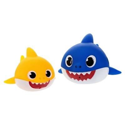 Pinkfong Nickelodeon Bath Squirters Baby Shark & Daddy Shark - 2pk