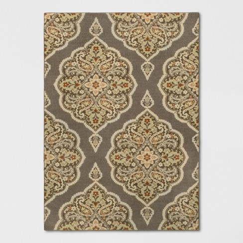 Varna Tufted And Hooked Rug - Threshold™ - image 1 of 3