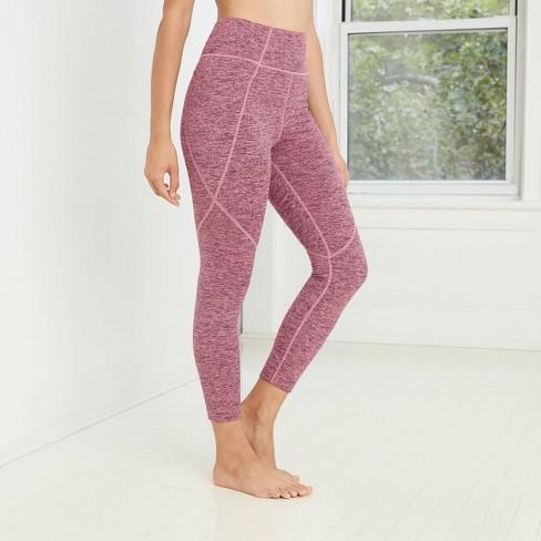 Women's High-Waisted Brushed Jersey 7/8 Leggings - JoyLab™ - image 1 of 2