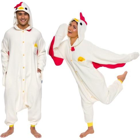 Funziez! Chicken Adult Unisex Novelty Union Suit - image 1 of 4