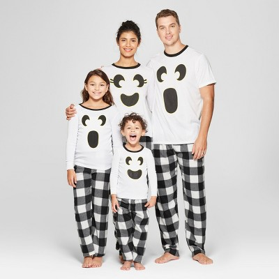 ghost halloween family pajamas collection