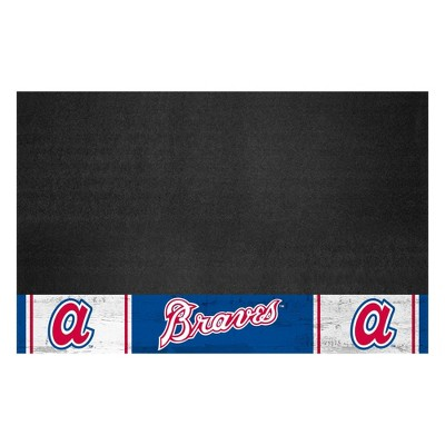 "MLB Atlanta Braves 1974 Retro Collection 26""x42"" Grill Mat"