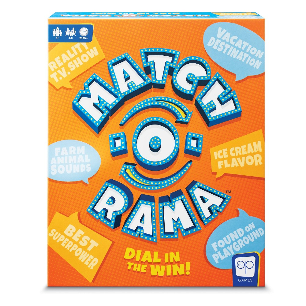 Match-O-Rama Board Game, Board Games was $19.99 now $9.99 (50.0% off)